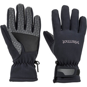 Marmot W's Glide Softshell Gloves Black